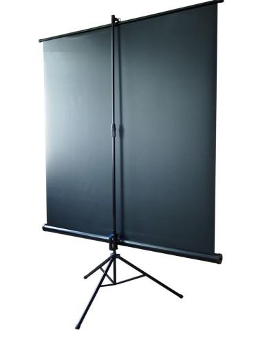 alphavision stativleinwand 244 x 244 cm mobile beamer leinwand inkl st nder stabile. Black Bedroom Furniture Sets. Home Design Ideas